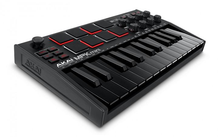 AKAI MPK Mini MK3 Black USB-Midi-Tastatur