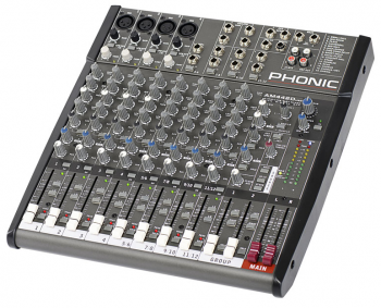 "Phonic AM-442D USB 19"" Rackmixer"