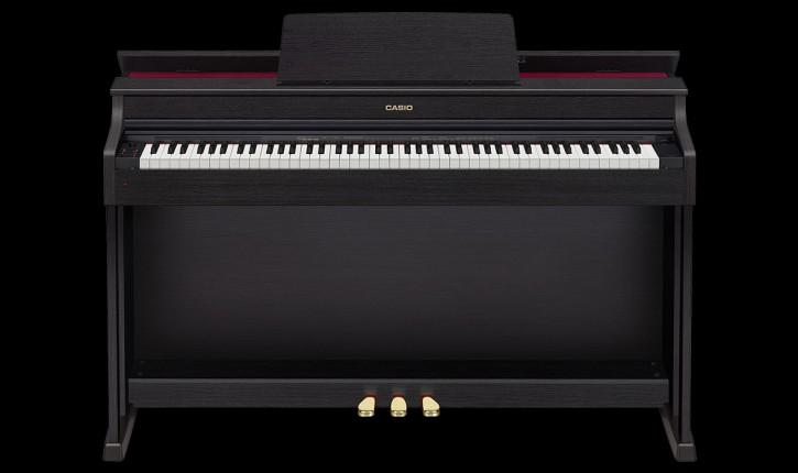 Casio AP-470 BK - Schwarz Set