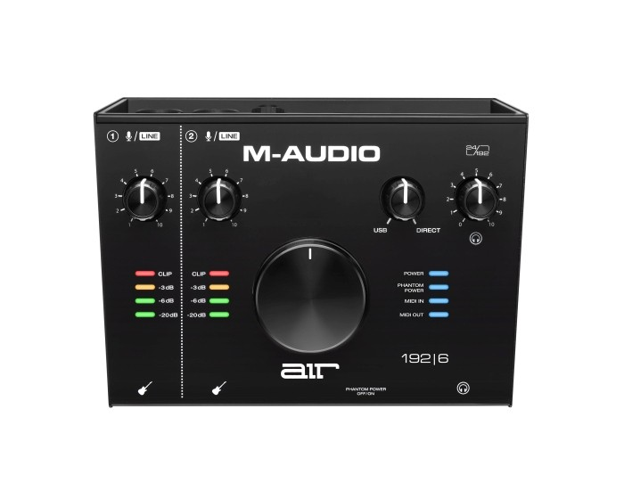 M-Audio AIR192x6 USB Audio/MIDI Interface