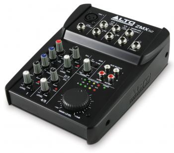 Alto Zephyr ZMX52 - Kompakter 5-Kanal Mixer