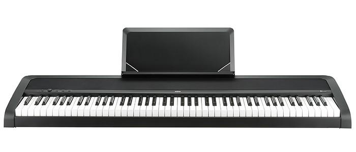 Korg B1-BK Set 2 mit Stativ, Bank und Kopfhörer