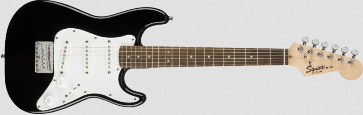 Squier Bullet Mini Strat V2 LRL Black