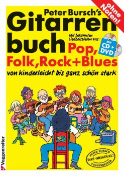 PETER BURSCHS GITARRENBUCH Bd. 1, INKL. CD+DVD