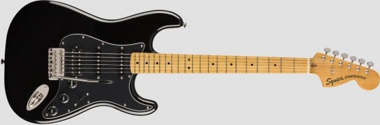 Squier Classic Vibe '70s Stratocaster HSS - MN BLK