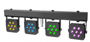 Cameo Multi Par 2 LED Lichtanlage inkl. Transportcase