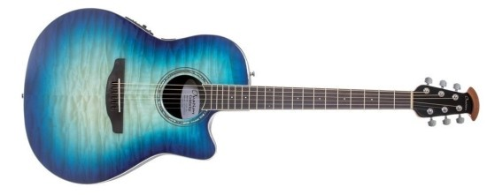 Ovation Celebrity Std. Plus CS28P-RG Regal to Natural Blue Burst
