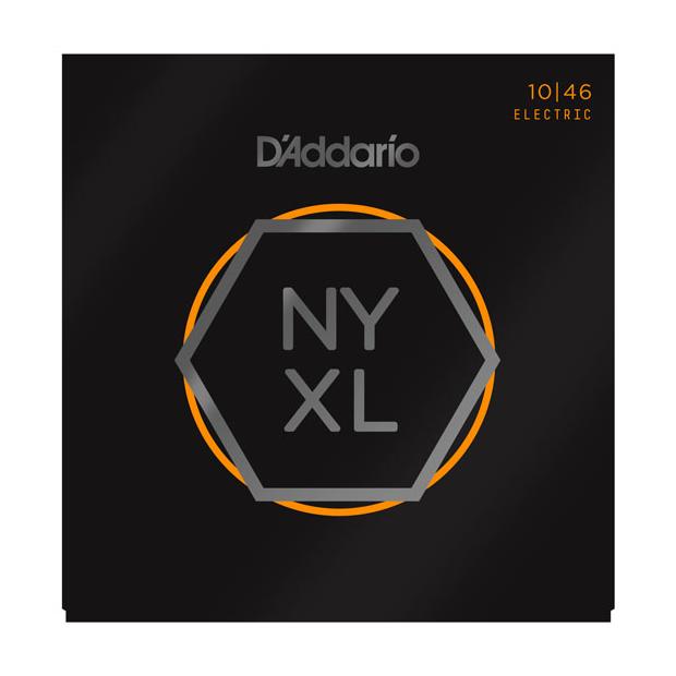 D'Addario NYXL1046 Saitensatz für E-Gitarre Regular Light 010-046