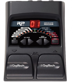 Digitech Guitar Modeling Preamp RP 55