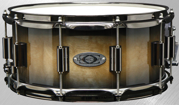 DrumCraft Snaredrum Serie 8 - Maple - Cream Mocca Burst