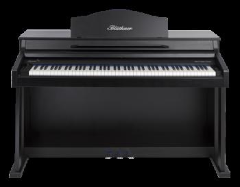 Blüthner E-Klavier E1 Lack schwarz satiniert