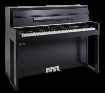 Blüthner E-Klavier E3 schwarz satiniert - lackiertes Gehäuse
