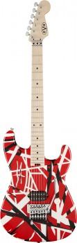 EVH Stripe Series Rot/Weiß/Schwarz