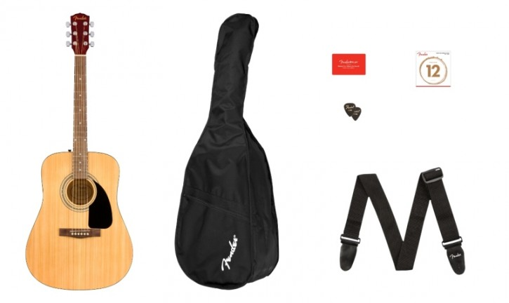 Fender FA-115 Dread Pack V2, Natur WN