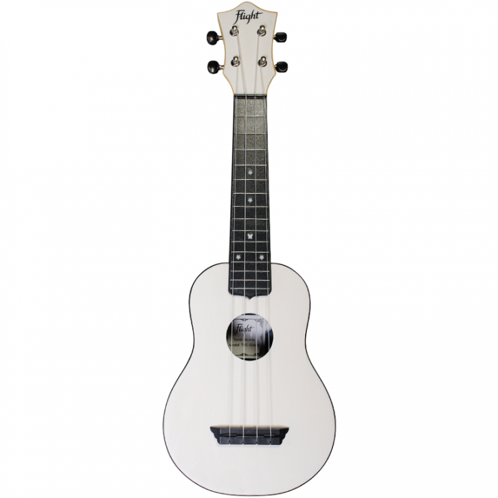 Flight Travel Ukulele TUS35 - White
