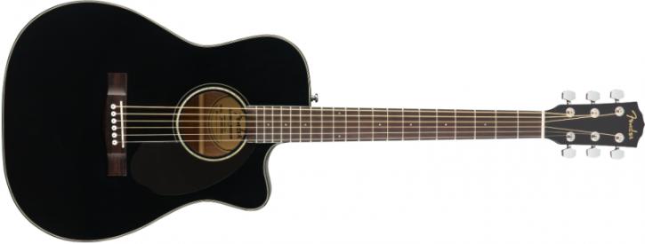 Fender CC-60SCE Concert, Black WN