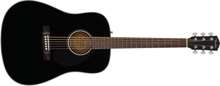 Fender CD-60S Black WN
