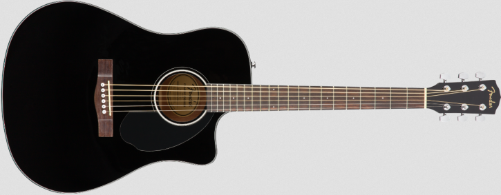 Fender CD-60SCE Dreadnought Black WN
