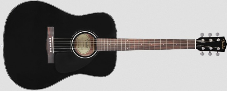 Fender CD-60 Dread V3 DS Black