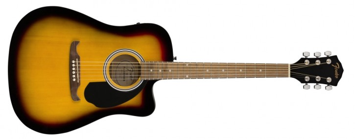 Fender FA-125CE Dreadnought SB WN