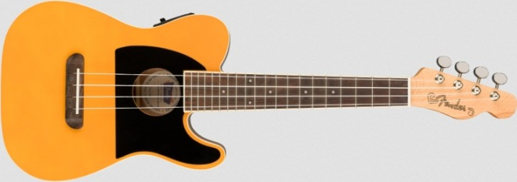 Fender Fullerton Tele Ukulele Butterscotch Blonde