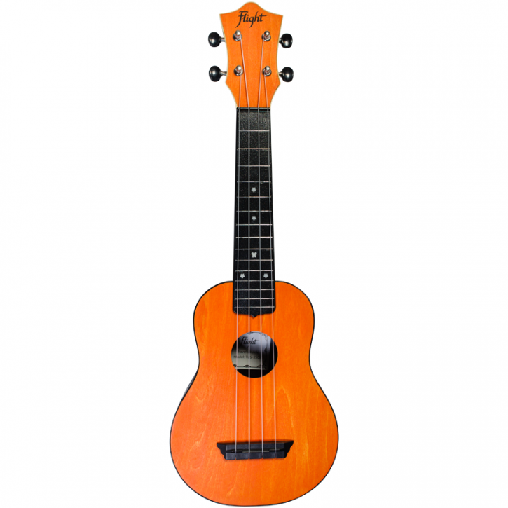 Flight Travel Ukulele TUS35 - Orange
