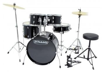 GEWApure Drumset Dynamic Two inkl. Becken, Hocker und Pedal