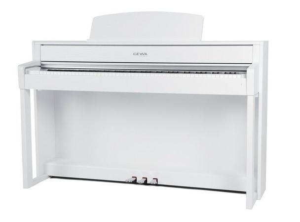 Gewa Piano UP-380 WK weiß Set - Made in Germany