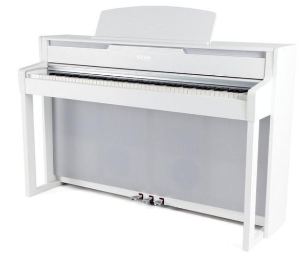 Gewa Piano UP-400 weiß Set - Made in Germany