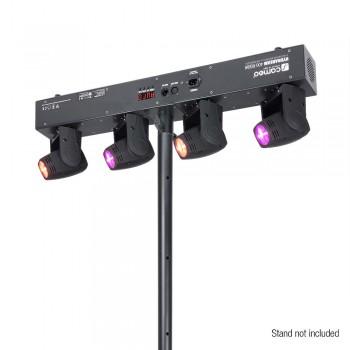 Cameo Hydrabeam 400 RGBW 4x10 W QuadLED-Moving Heads - Lichtanlage