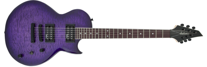 Jackson JS 22Q SC - TR Purple Burst
