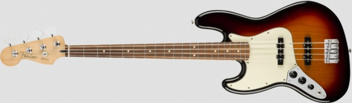 Fender Player Jazz Bass LH PF 3TS