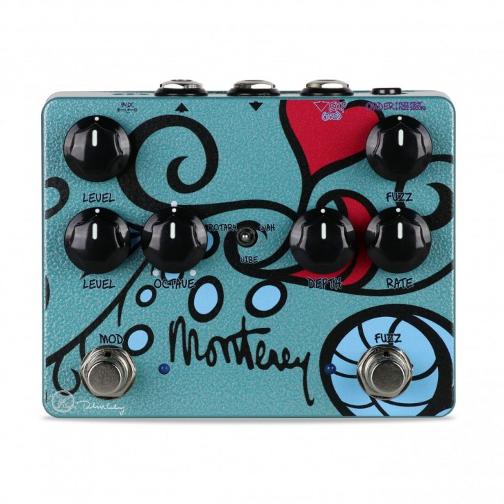 Keeley Monterey Rotary/Fuzz/Vibe/Octave/Wah Pedal