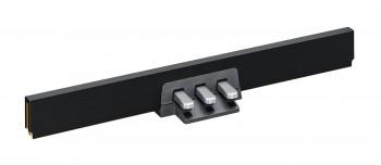 Yamaha LP-255 B schwarze 3er Pedalleiste für P-255 B