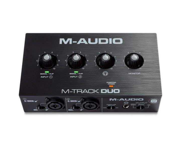 M-Audio M-Track Duo - USB Audio Interface