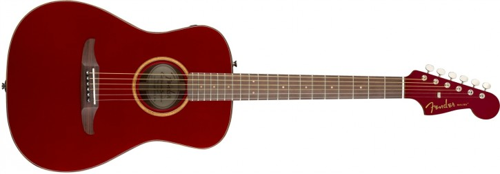 Fender Malibu Classic, Hot Rod Red Metallic (inkl. Tasche)