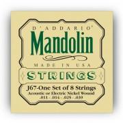 D'Addario J67 Mandolin Saiten Satz