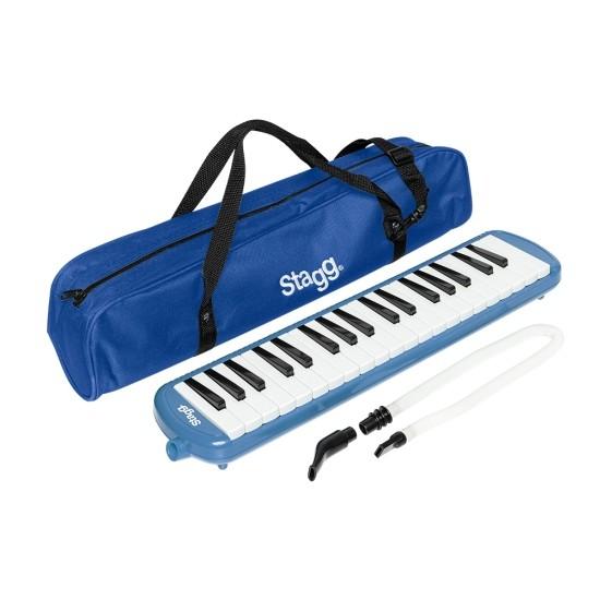 Stagg Melodica Melosta 37 blau