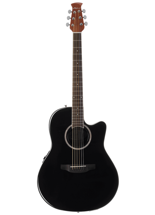 Ovation Applause AB24II-5  Mid-Cutaway, Black