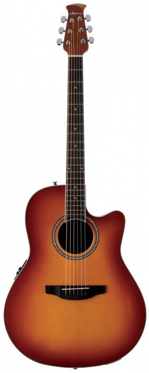 Ovation Applause Balladeer AB 24II-HB Mid Cutaway - Honey Burst