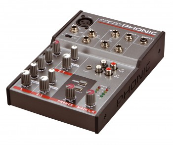 Phonic AM-120 MKIII Kompaktmixer