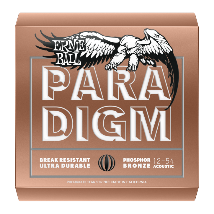 Packet Ernie Ball Paradigm Phosphor Bronze 012-054
