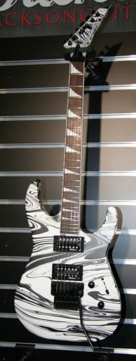 Jackson X Series Soloist SLX DX Satin White Swirl