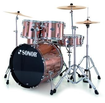 Sonor Smart Force Stage 1 Xtend Drumset Copper