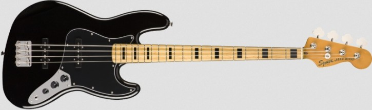 Squier Classic Vibe '70s Jazz Bass - MN Black