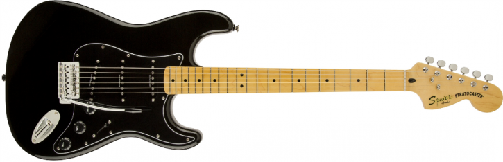 Squier Vintage Modified Stratocaster 70s MN BLK