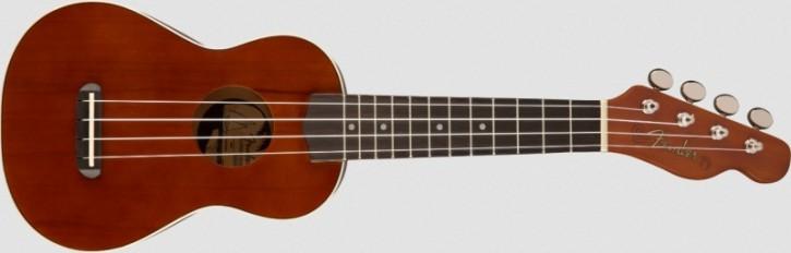 Fender Venice Soprano Ukulele Natural WN