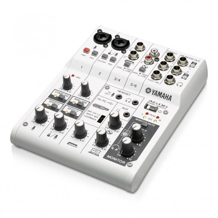 Yamaha AG06 Mixing Console/ USB Interface
