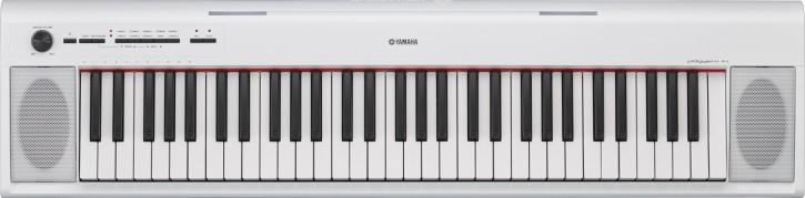 Yamaha NP-12 weiß Set mit Stativ und Kopfhörer