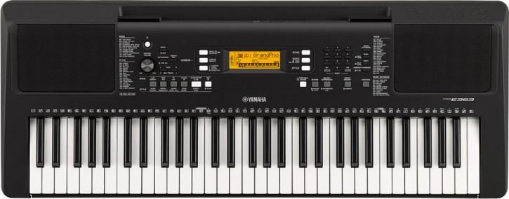 Yamaha PSR-E363 Set mit Stativ und Kopfhörer